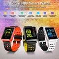 N88 Смарт часы цветной экран Bluetooth IP68 водонепроницаемый монитор сердечного ритма кровяного давления сменный Браслет для Android IOS