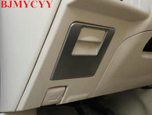 BJMYCYY The main driving control store content box stainless steel sequins for toyota Corolla