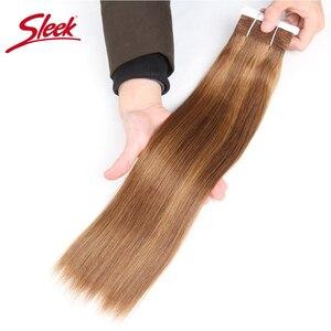 Image 2 - מלוטש רמי שיער ברזילאי יקי ישר שיער טבעי חבילות 1 pc פסנתר P4/30 # P1B/27 # P6 /27 # שיער Weave חבילות הרחבות 113 גרם