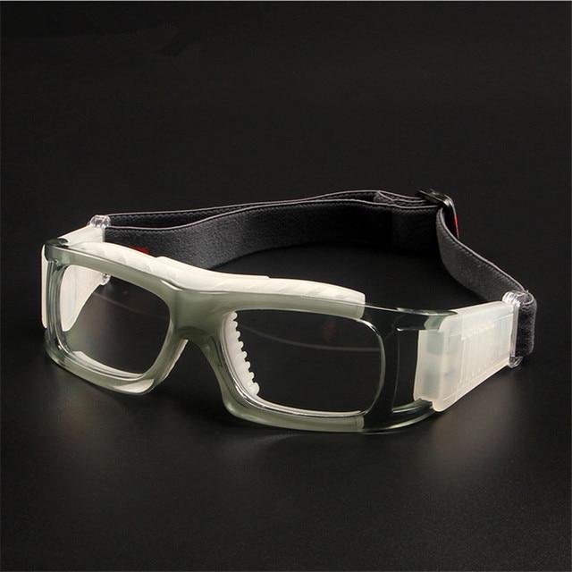 Lunettes de sport lunettes de Basket-Ball Prescription cadre en verre de  football De Protection dd94f348b350