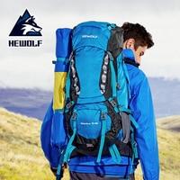 Hewolf 65L открытый спортивная сумка для альпинизма большая емкость походная сумка высокого качества слезоточивая водостойкая ткань