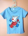 2016 summer Girls boys t-shirt cartoon pink red pig Tops&Tees  nova bape Short Sleeve Tshirts Children Baby clothes
