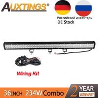 Auxtings 1Pcs High Power 234w 36Inch Led Light Bar Spot Flood Combo Led Light 10 30v