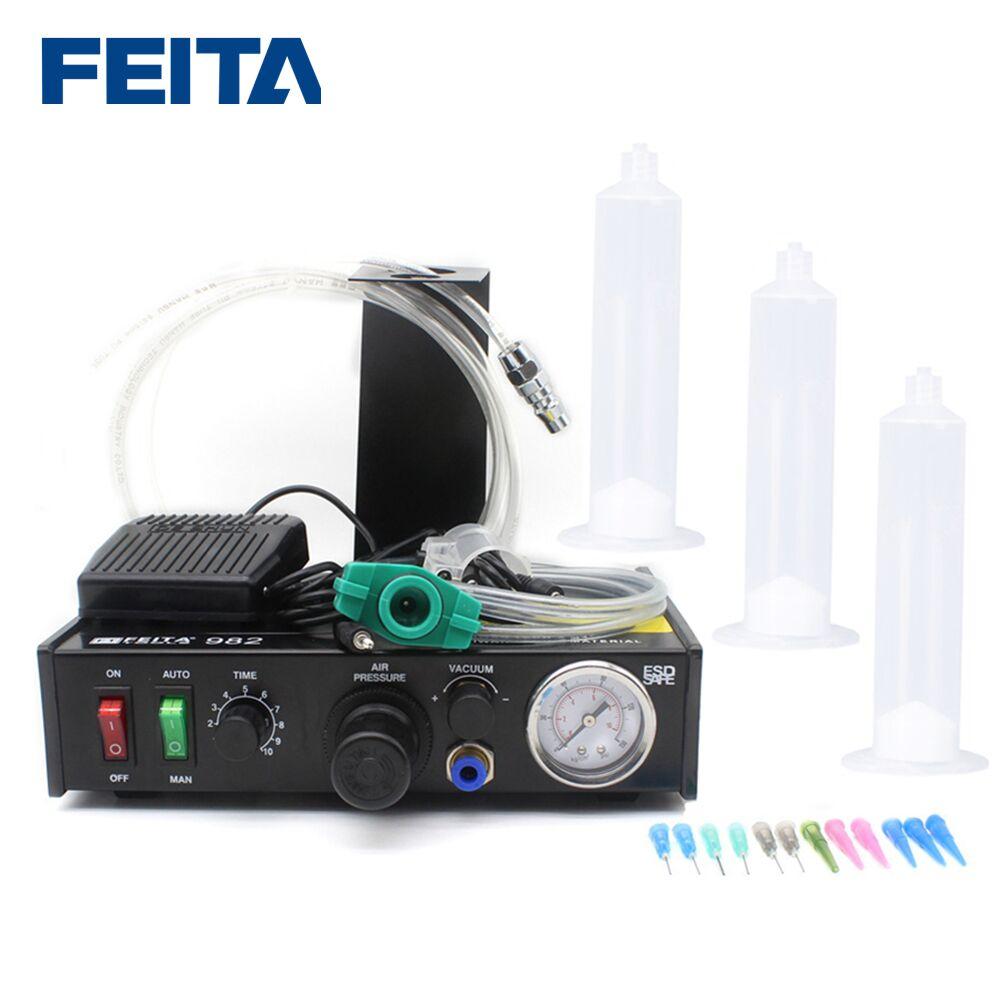 FT-982 Automatic Fluid Dispenser Automatic Glue Dispensing machine tools Aliexpress wholesale High quality