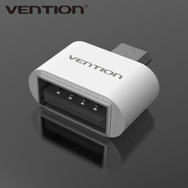VENTION Micro USB To USB OTG Adapter 2.0 Converter For Android Samsung Galaxy S3 S4 S5 Tablet Pc to Flash Mouse Keyboard