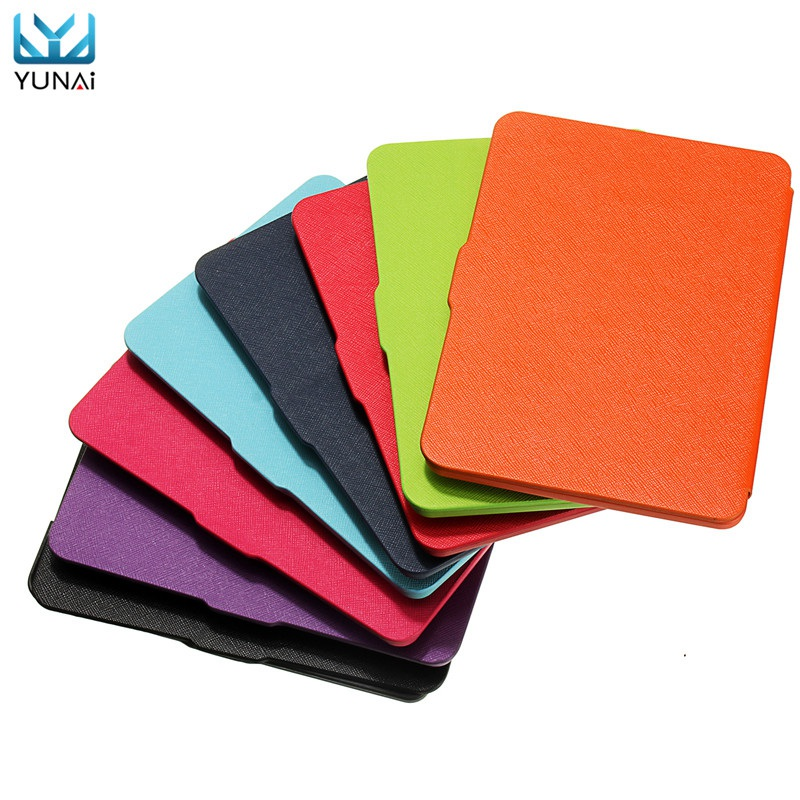 YUNAI Ultra Slim PU Leather Smart Magnetic Cover Case For Amazon Kindle Paperwhite 1 2 3 Case Protevtive Cover For Kindle 6inch fashion pu leather ultra slim smart cover case for amazon kindle paperwhite 1 2 3 6case tablet shell with sleep
