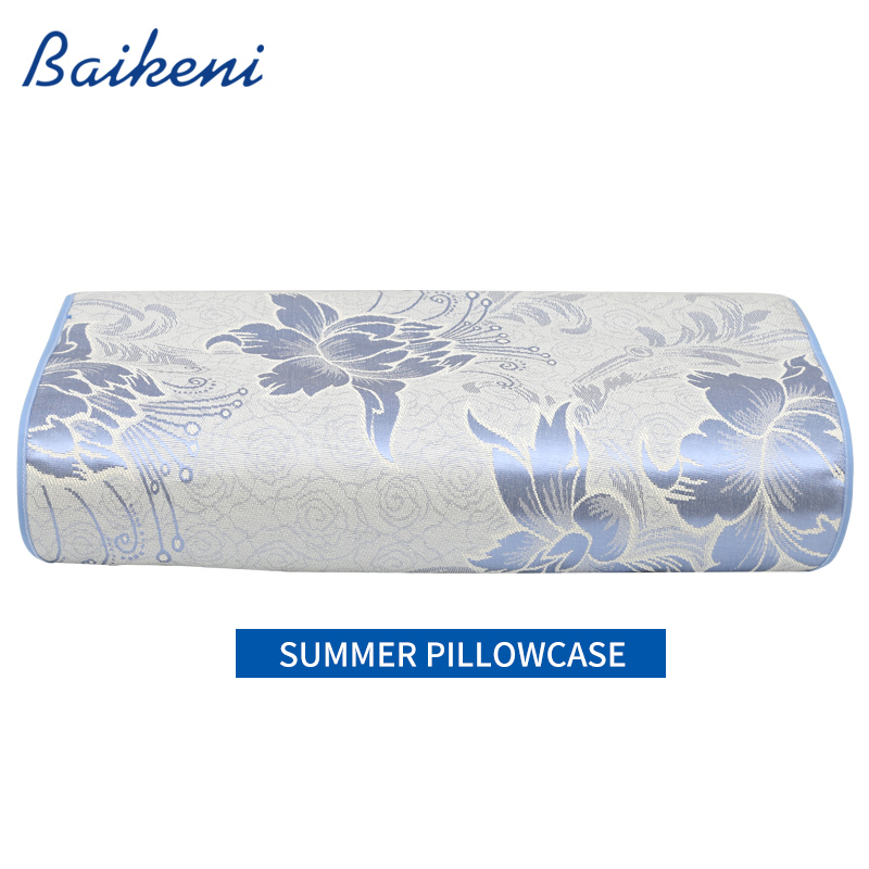55 35 summer cooling memory foam bedding pillow orthopedic neck pillow with cool pillow mat. Black Bedroom Furniture Sets. Home Design Ideas