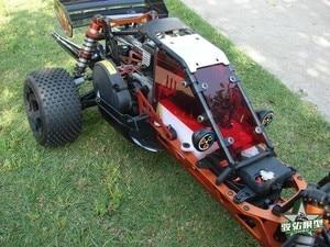 Image 5 - バハ5bアップグレードwindows用rovan km hpi 1/5 rcカー防塵窓(赤)