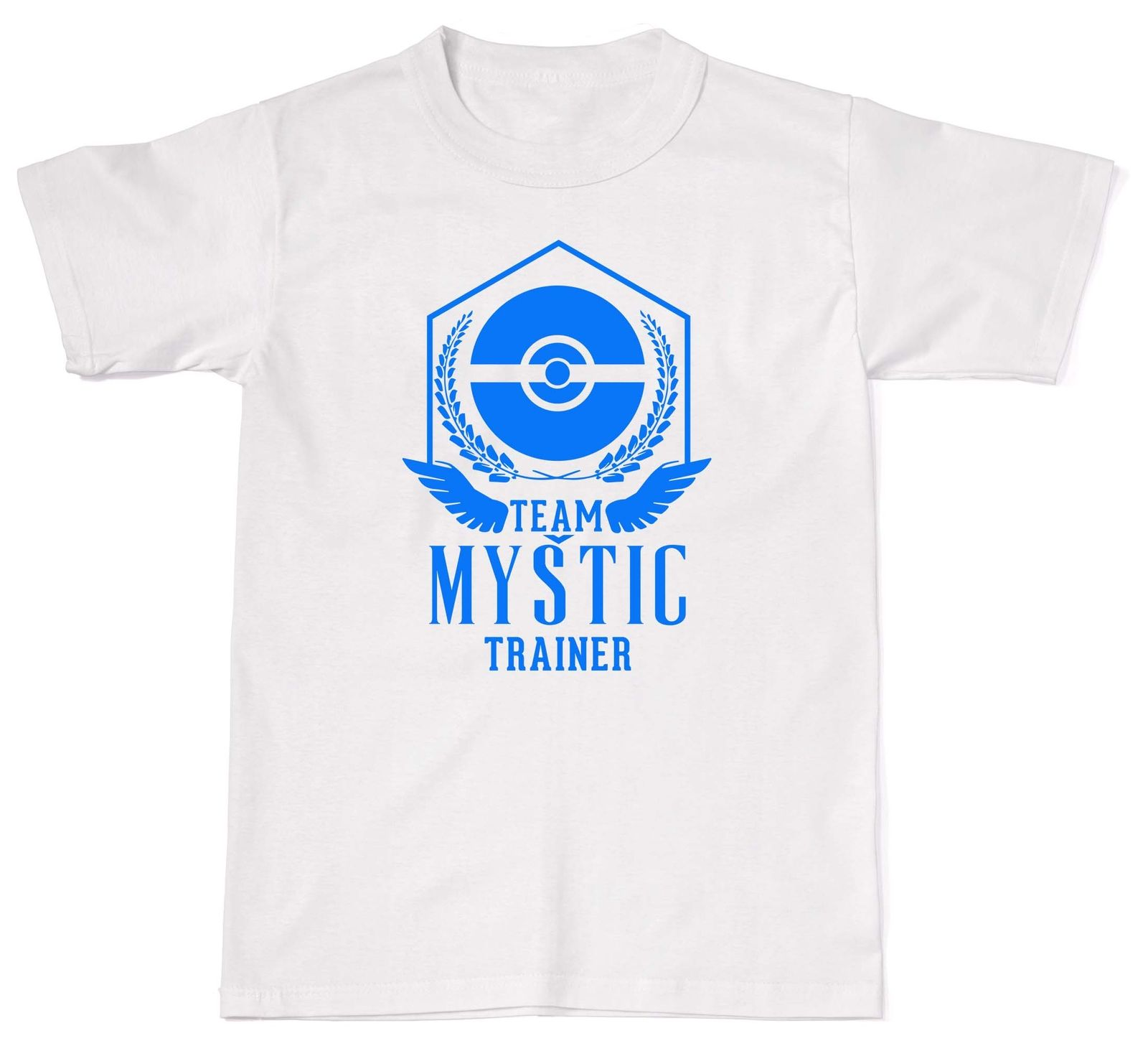 Team Mystic Game Pokemon Inspired Go Trainer Gymed Unisex T-Shirt T Shirt Cotton T-Shirt Men Clothing