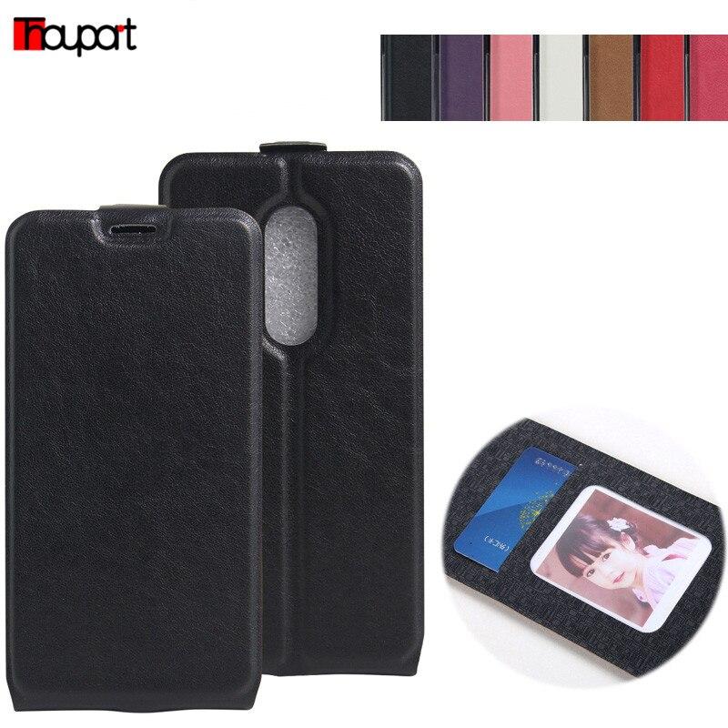ZTE Axon 7 A2017 Flip Leather & TPU Pouzdro pro ZTE Axon7 Cover Soft - Příslušenství a náhradní díly pro mobilní telefony