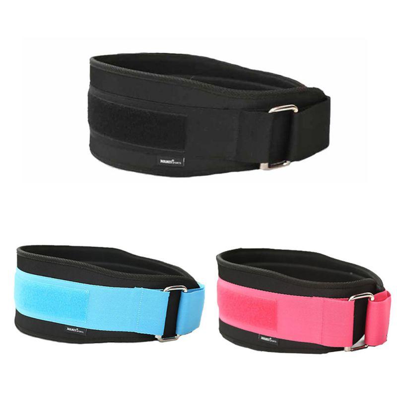 Nylon Protector Belt EVA Weightlifting Squat Belt Lower Back Support Gym Bodybuilding Squats Training Fitness Sport Safety