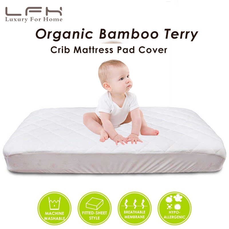 Waterproof Bamboo Mattress Protector Pad Bed Cover Cool Comfortable Multi Size