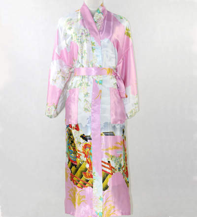 Army Green Chinese Lady Sexy Long Silk Robe Women Kimono Kaftan Gown  Sleepwear Pijama Plus Size 1ba32b754