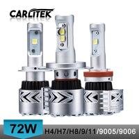 12000 Lumen 72W H7 H4 Car Led Headlights Super Bright IP65 Hi Lo Beam H11 H8