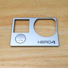 Clownfish front board with power button for Gopro hero 4 Front Panel Cover Faceplate repair part hero 4 Frameble door spare part