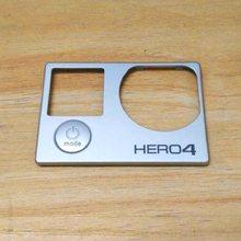 Placa frontal de clownfish com botão de alimentação, para gopro hero 4, cobertura do painel frontal, peça de reparo, hero 4, quadro, porta de reposição