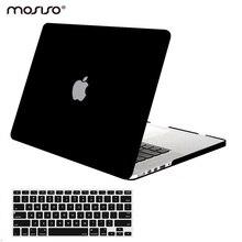 Mosiso Mac Pro Air 13 матовая Защитная крышка чехол для Macbook Pro 13 15 retina A1502 A1425 A1398 год