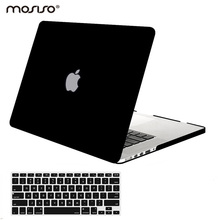 цены Mosiso Mac Pro Air 13 2019 Matte Protective Cover Case for Macbook Pro 13 15 Retina Model A1502 A1425 A1398 year 2013 2014 2015