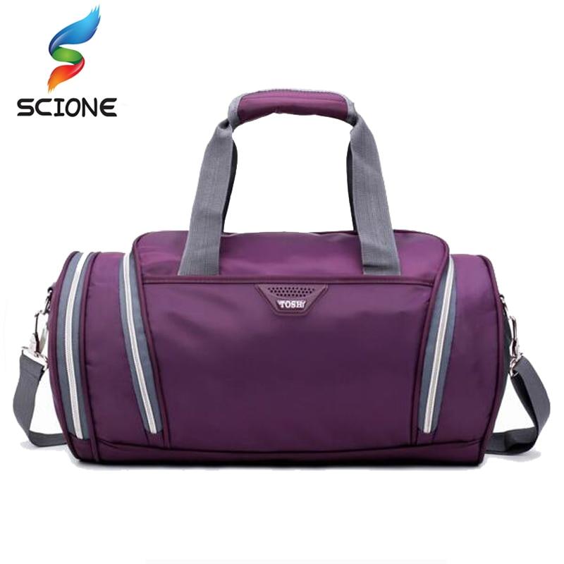 Новый профессиональный спортивная сумка Training Gym bag Для мужчин женщина Фитнес Сумки прочный многофункциональный Сумочка Открытый Спортивные Tote для мужчин