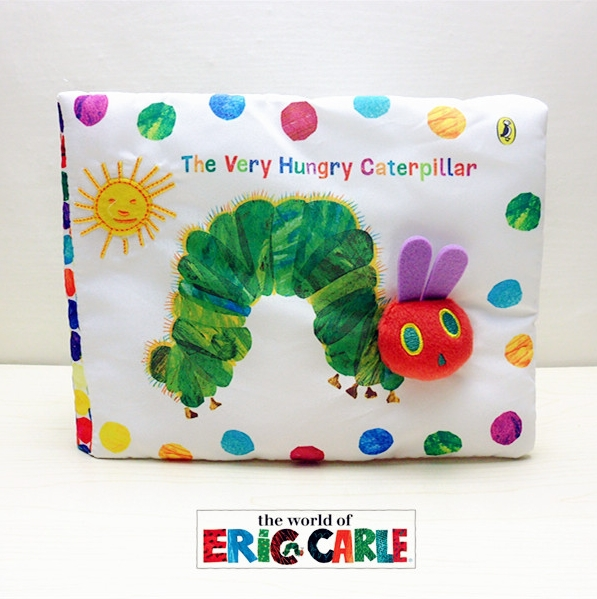 The Very Hungry Caterpillar by Eric Carle soft book NEW