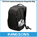 Kingsons Противоугонные Ноутбук Рюкзак 15.6 дюймов Сопротивление Воды Рюкзак Для Ноутбука Внешний USB Зарядка Компьютер Сумка для Мужчин Женщин