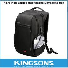 Kingsons Antitheft Laptop Backpack 15.6 inch Water Resistance Notebook Backpack External USB Charge Computer Bag for Men Women