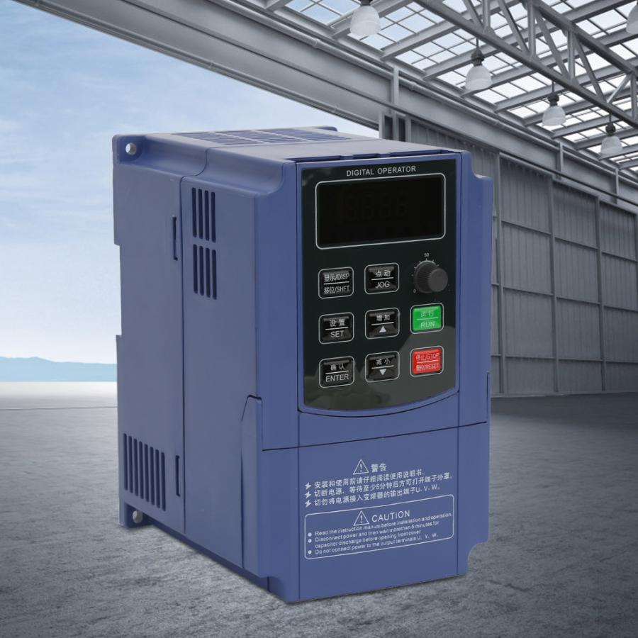 380V 0.75KW Frequency Drive Inverter Frequency Converter Three Phase Input Three Phase Output Frequency Converter VFD380V 0.75KW Frequency Drive Inverter Frequency Converter Three Phase Input Three Phase Output Frequency Converter VFD