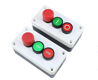 NC Аварийная остановка НЕТ Красный Зеленый кнопочный переключатель станции 600V 10A