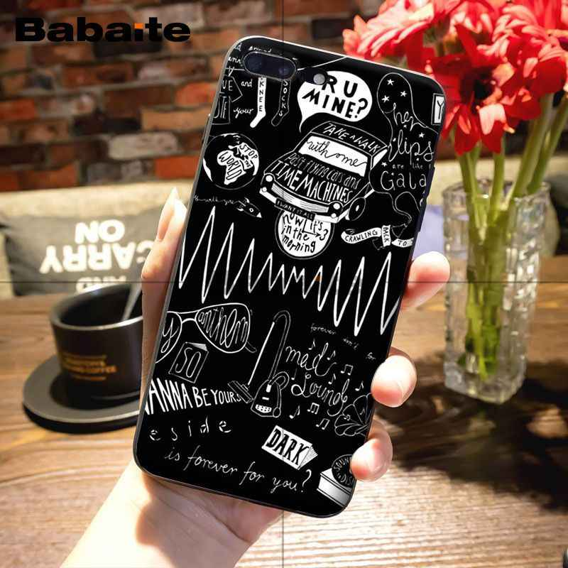 Babaite Arctic Monkeys черный ТПУ мягкий резиновый чехол для телефона для iphone 6S 6 плюс 7 7 plus 8 8 plus X Xs Макс 5 5S XR