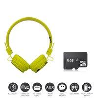 Economic Set Original NIA X3 8 GB Micro SD Card A Set Multifunction Bluetooth Headphones One