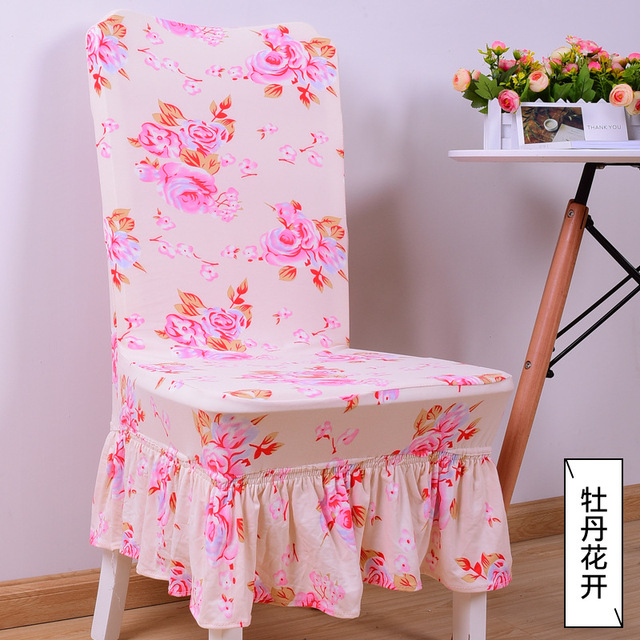 Design Stoelen Sale.Top Sale Pastoral Style Chair Cover Printed Cotton Stoelen Hoes