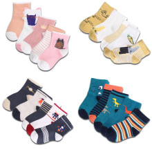 YOOAP 5 Pairs Children Autumn Winter Cartoon Socks for Girls Kids To School Sport Baby Girl Clothes  Boy
