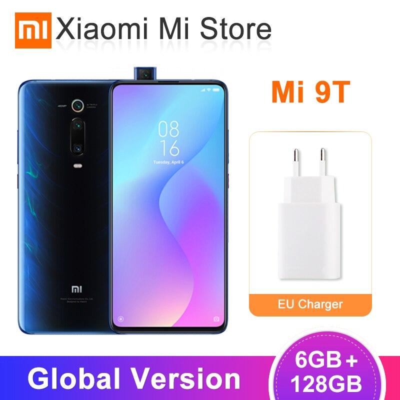 Versão Global Xiao mi mi 9T (Red mi K20) 6GB 128GB Smartphone Snapdragon 730 6.39