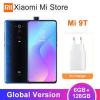 "Version mondiale Xiao mi mi 9T (rouge mi K20) 6GB 128GB Smartphone Snapdragon 730 6.39 ""plein écran 48MP 4000mAh NFC"
