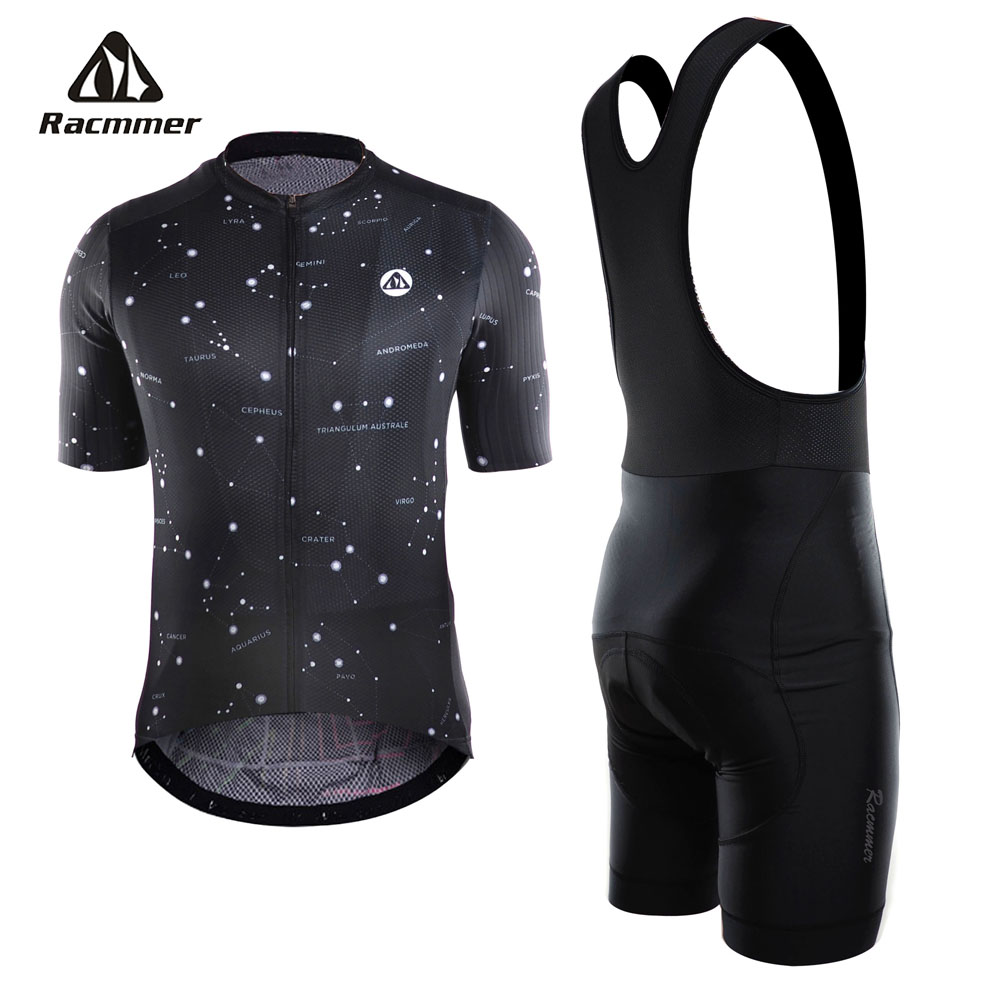 Racmmer 2018 Summer Cycling Jersey Set PRO TEAM AERO Clothing MTB Bicycle Clothes Wear Maillot Ropa Ciclismo Men Cycling Set