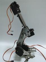 Hello Maker H675 ABB Industriell Robot Mekanisk Arm 100% Alloy Sex Graderingsfrihet Robotarmstativ med 6 servos