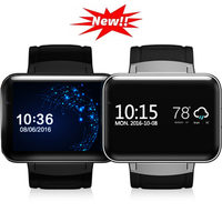 DM98 Smartwatch 2.2 Display 320*240 LED Dual Core 1.2G 900Mah Camera WIFI 3G GPS App For Smartphone Montre Intelligente Q18