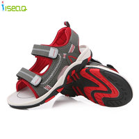 Children Boys Sandals Summer New Style Shoes Fashion Cut Outs Sandals Kids Canvas Rain Sandals Breathable