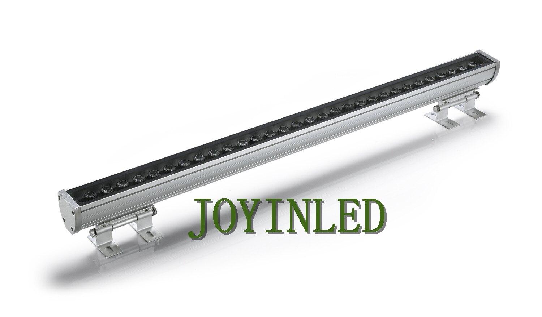 30 W 36 W 62*63*1000 MM IP65 levou arruela Da Parede de Luz ao ar livre da lâmpada Paisagem à prova d' água luz linear bar lâmpada Warmwhite/Branco/RGB