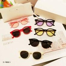 KOTTDO 2019 New Outdoor Sunglasses UV400 Boys Girls Cute Round Cheap