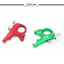 Promo offer 3 Finger Stainless Steel Release Aid Archery Caliper Release for Compound Bow Archery Arrows and Bow Release