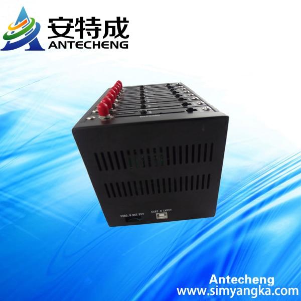multi-socket gsm gprs 8 ports modem Q2403 sms modem pool