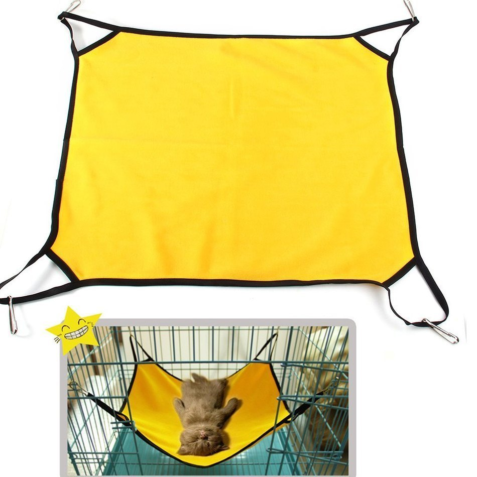 cat bed pet hammock cat house soft chinchilla cat cage hammock small dog bed cover bag blankets pet products rest cat house mat in houses kennels  u0026 pens     cat bed pet hammock cat house soft chinchilla cat cage hammock      rh   aliexpress