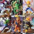 FÃS MODELO Dragon ball Z INSTOCK barato versão zero zero figura son goku vegeta Freeza Trunks figura de brinquedo de presente