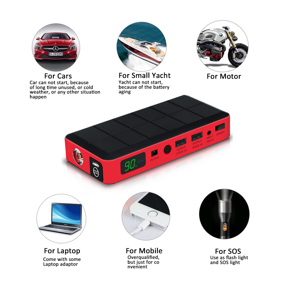 Big Discount Car Rover Jump Starter 26000mah Emergency Car Power