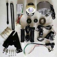 24V 36V 450W Upgrade Electric Bike Brush Motor Conversion Kit Throttle With Key Switch Brake Lever