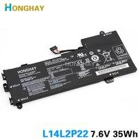HONGHAY L14L2P22 Bateria Do Portátil para LENOVO U30 U30-70 E31-70 U31-70 IFI L14S2P22 35WH L14M2P24 7.6V 4610MAH