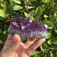 110-120g naturel rêve améthyste Quartz cristal grappe spécimen de guérison