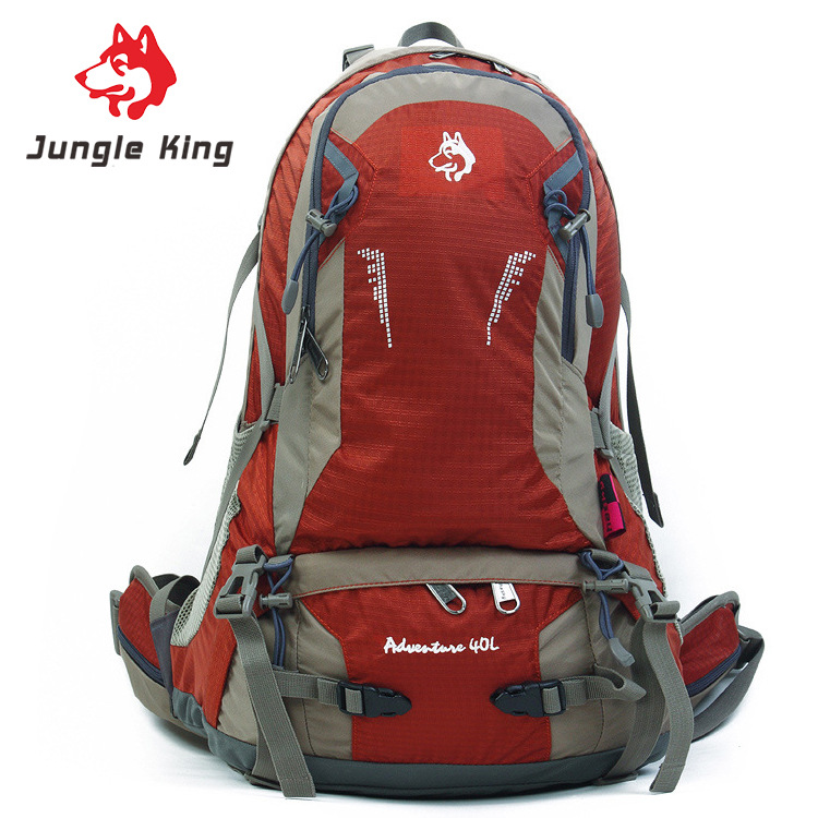 Jungle King 2017 new professional outdoor camping hiking backpack Travel backpack Both men and women riding waterproof bag 40 l 75l external frame support outdoor backpack mountaineering bag backpack men and women travel backpack a4809