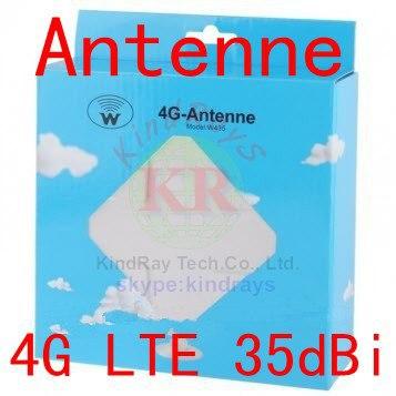 Antenna esterna huawei 35dbi 3g 4G lte Antenna 2 * SMA ts9 Connettore CRC9 sma per B593 e5577 ts9 per modem router e5776 3g 4g